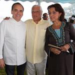 Chef Jean-Georges, Ezra Chammah, Michelle Chammah