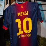 Autographed Lionel Messi Jersey