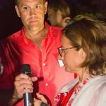 Tom Naro, SFAH President Michaela Keszler