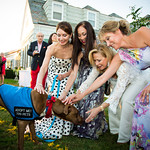 Jean Shafiroff, Lucia Hwong Gordon, Kim White, Melanie Wambold and Smokey The Dog