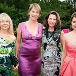 Nancy Jane Loewy, Melanie Wambold, Sharron Kerr, Jean Shafiroff