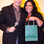 Steven Vogel, Lisa Sherman (raffle winner)