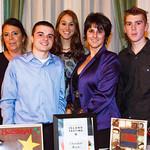 Gina Griffin, Jonathan Goonan, Kim Ferrari, Ronda Daniels, Mr. Griffin (Chocolate Works)