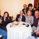 Steve, Laura, Richard Romeo, Lenny, Naomi, Susan, Joe, Margie (guests)