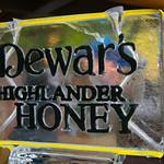 Dewar's Highlander Honey Ice Sculpture