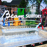Beam Suntory Ice Sculpture