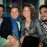 Chris Sanborn, Suzanne Sanborn, Caitlin Kalke, Steve Dolan