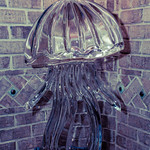 Jellyfish Ice Sculpture