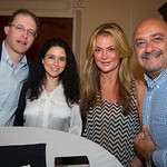 Neil Nichols (Long Island Eye Surgical Care PC), Leah Nichols, Kathy Yeganeh, Robert Yeganeh (Shoes I Love)