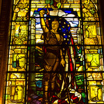 Stained Glass Window, 9th Floor, New York Athletic Club