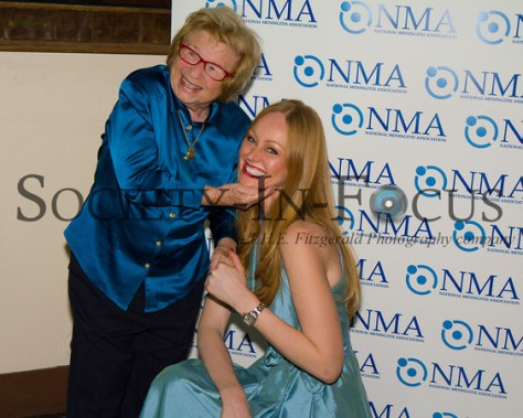 """Dr. Ruth Westheimer, Ulrika """"Red"""" Nilsson"""