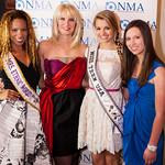 Daisi Sepulveda (Mrs. Ethnic World International 2012), Sara Herbert Galloway, Danielle Doty (Miss Teen USA), Alana Galloway (NMA Teen Health Advocate)