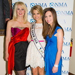 Sara Herbert-Galloway, Danielle Doty (Miss Teen USA), Alana Galloway (NMA Teen Health Advocate)