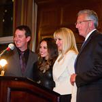 Kyle Busch, Samantha Busch,  Sara Herbert-Galloway, Barry Klarberg
