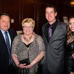 Tom Krejny, Cindy Krejny, Kyle Busch, Samantha Busch
