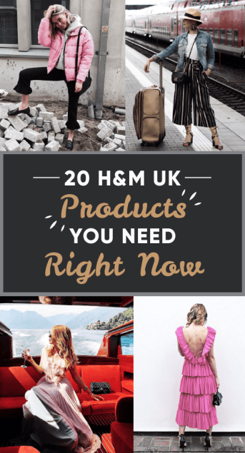 20 H&M UK Products You Need Right Now