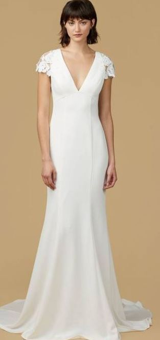 This dress is totally inspired by the Pippa Middleton bridesmaid dress!