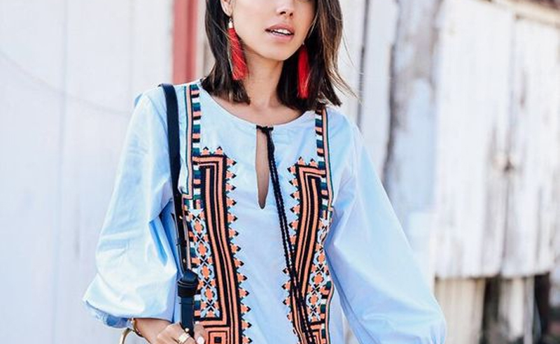 Fringe earrings our one of our newest obsessions, and these cute fringe earrings are everything you need for the spring and summer! The added accessory looks great with any outfit!