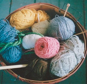 knitting stress relief