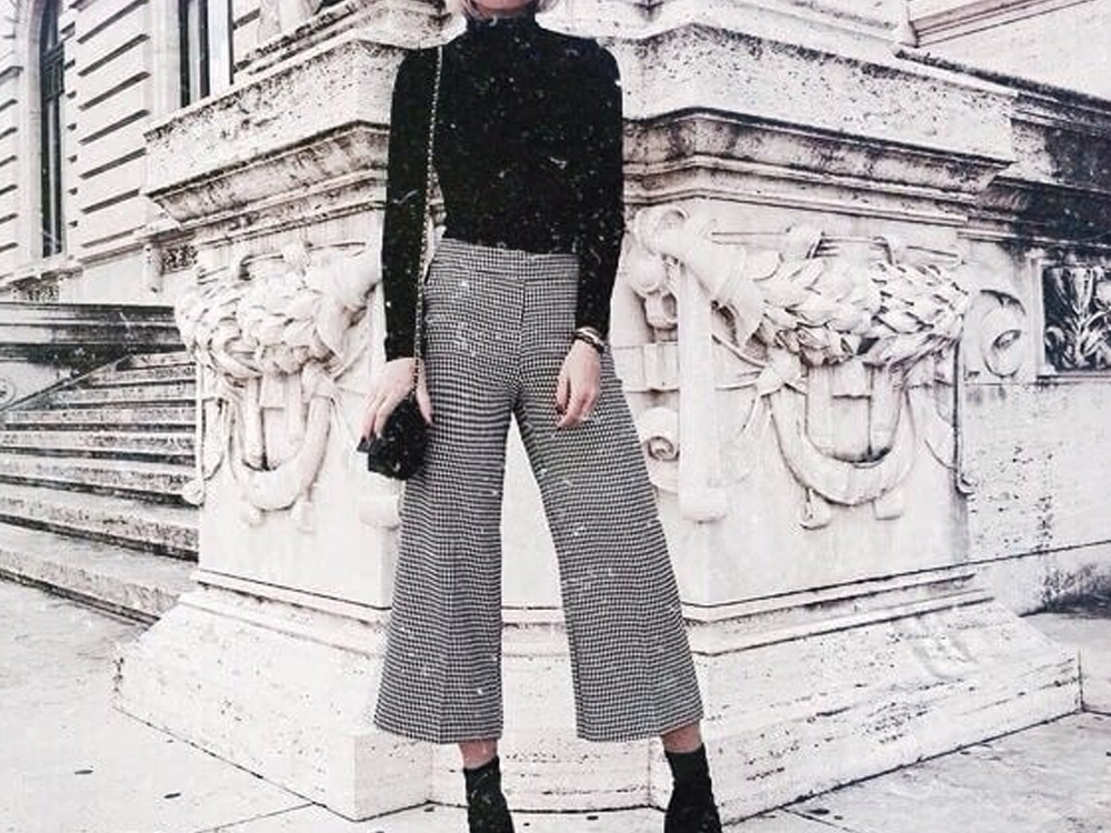 Black and white gingham trousers can be a great outfit addition for work, nights out, weekend get-a-ways and the every day. This list of gingham trousers are chic and add a classic touch to any ensemble.