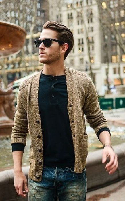 12 Mens Cardigan Sweaters That Are Light Enough To Wear This Summer
