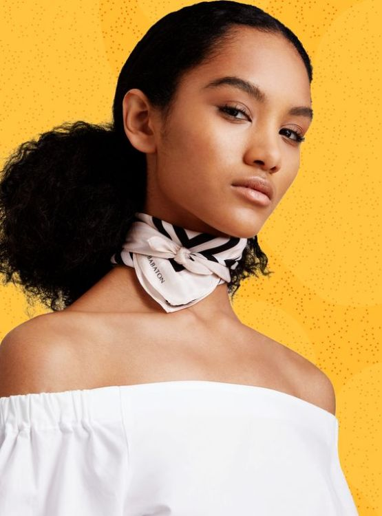 The neckerchief scarf is the next choker! We love this summer look!