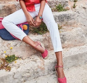 These low heeled wedge sandals are ideal for work and street style. The low wedge heel sandals styles are cute and comfy!