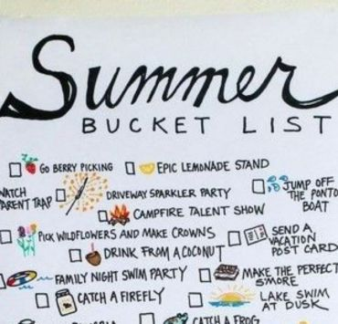 The First Day Of Summer Bucket List You Need To Follow