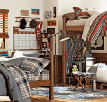 Decorating a guys dorm room can be tough, but we have the 3 easiest ways to transform your room into an ultimate haven for any guy!