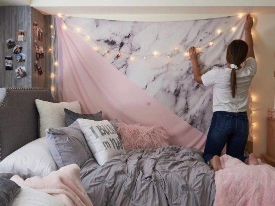 Does your dorm room need a facelift, stat? We got you! These eight dorm decorating rules will save your room from dorm room funk!