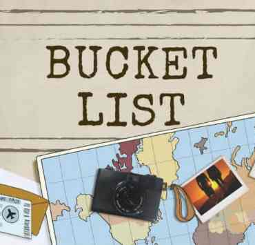 Sticking to the things you always want to do is not easy, becuase there isn't enough time! Writing a bucket list can make you accountable for those things!