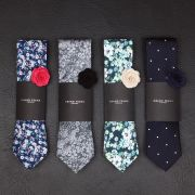 Ties are pretty much the secret weapon of any stylish man's wardrobe. The right tie looks give you the swagger you need to walk into any room like a boss.