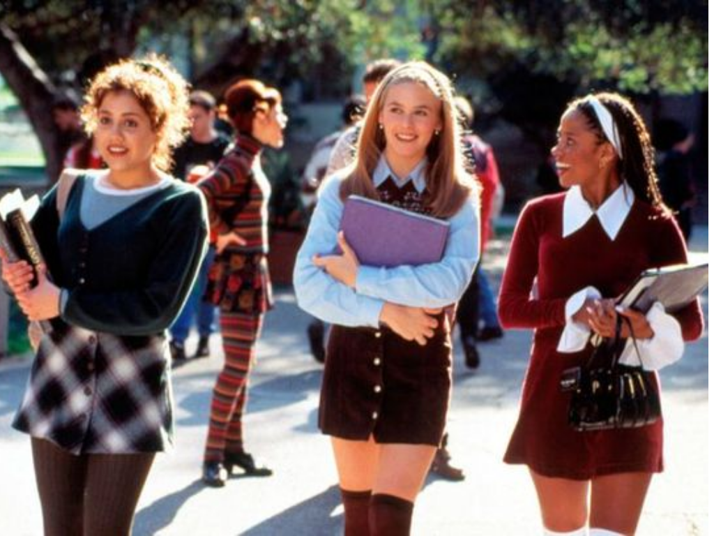 n the 1990s, there were many film and TV characters who gave us fashion inspiration then and now. Here's a list of those top fashionable characters!