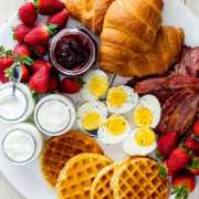 Breakfast is the most important meal of the day and yet many people tend to skip it due to many reasons. Here are 10 simple breakfast ideas for you!