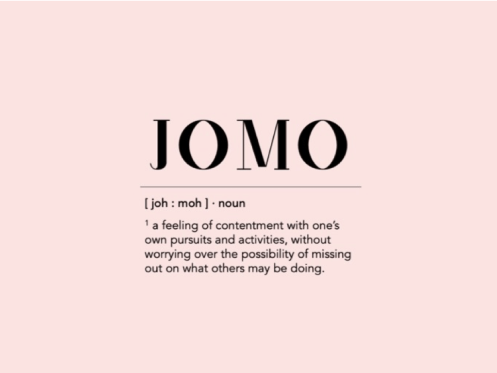 Here's Why JOMO Is Better Than FOMO