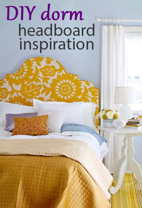 Diy Dorm Headboard Ideas Society19