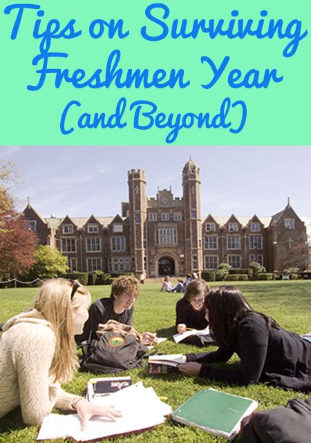 Tips on Surviving Freshman Year (and Beyond)_____SOCIETY19