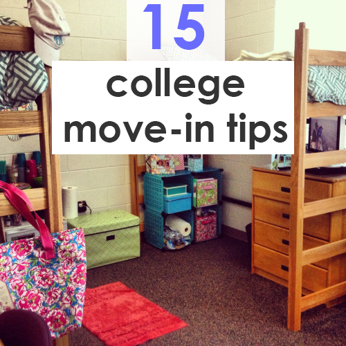Move in tips