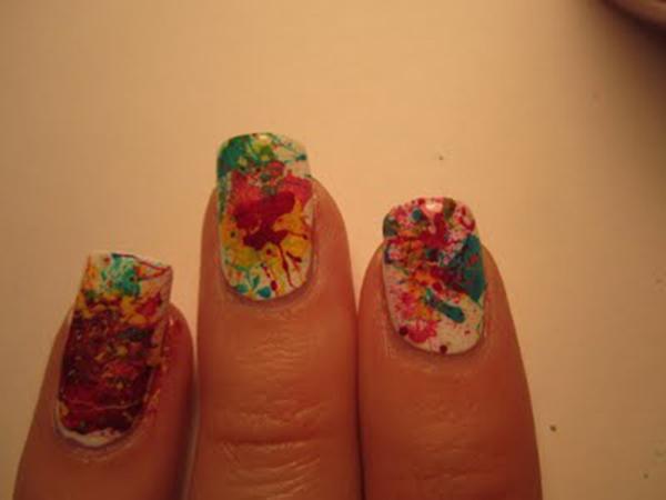 Spangled Nail Art Tutorial