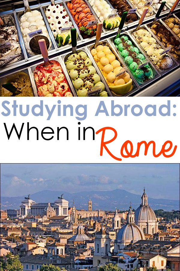 Studyin Abroad: When in Rome | SOCIETY19