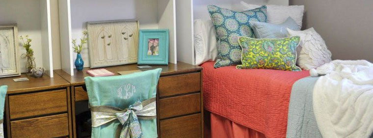 How to Brighten a Drab Dorm Room