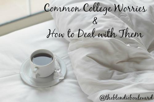 Common College Worries