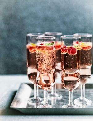 Rose Mint Fizz