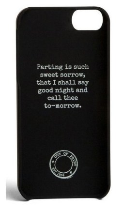 Gifts for Book Lovers - Romeo and Juliet Phone Case