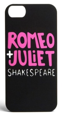Gifts for Book Lovers - Romeo and Juliet iPhone Case