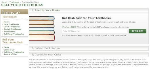 This is where to sell your textbooks!