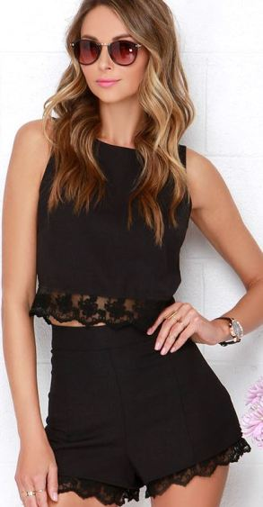 Summer Fahion - Two-Piece Lace