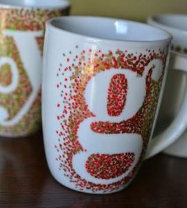 The Perfect Mother's Day Gifts - painted mugs