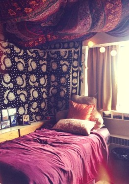 This Boho Chic Dorm Room Is So Cute