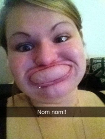 Perfect Snapchats - nom nom